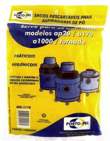 Imagem de Saco De Aspirador Po Descartavel Eletrolux Hidroluxap20 A170