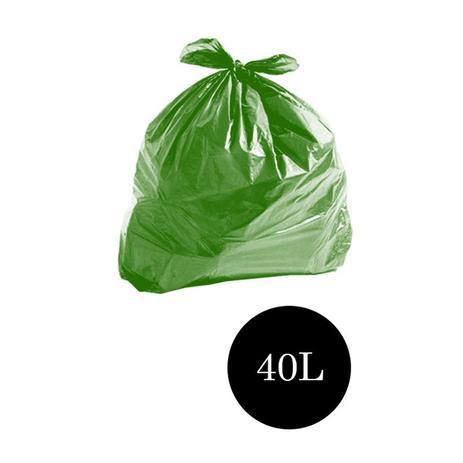 Imagem de Saco de Lixo Comum Verde 40LTS PCT C/100 UN