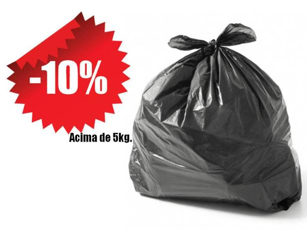 Imagem de Saco De Lixo Reforçado Preto 200 Litros Kg