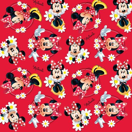 74f0ef9ed80157 Saco P/Presente Minnie Disney Vermelho 61X34,5Cm C/25 - Cromus