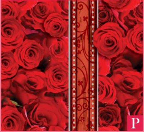 Imagem de Saco perolizado - moulin rouge: 25x37 c/ 50 un