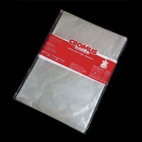 Imagem de Saco Transparente - 30x44cm - 50 unidades - Cromus - Rizzo Embalagens