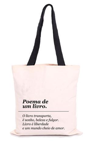 Imagem de Sacola Ecológica - Mr. Fly Moda Sustentável - Poema de Um Livro