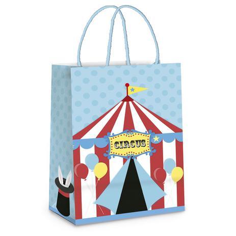 3e9dc8115b Menor preço em Sacola para Presente Circus Vintage 10 unidades P Cromus