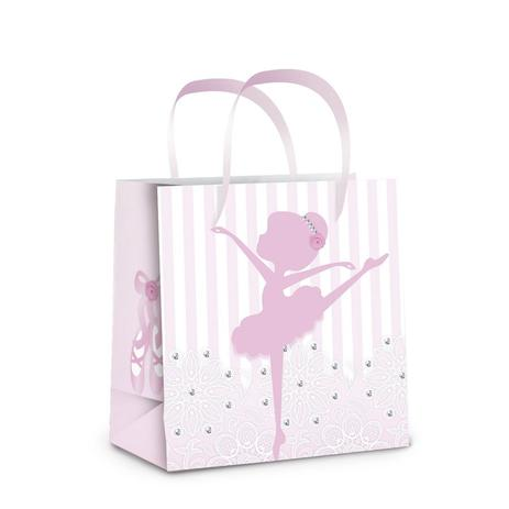 c548006048 Sacolinha para Presente Ballet 10 unidades PP Cromus - Embalagens ...