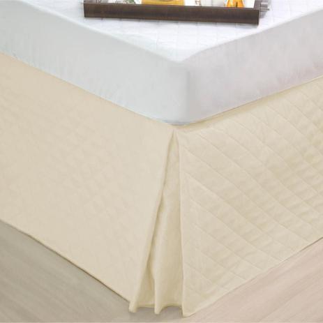 Imagem de Saia Box para Cam Queen Matelassê Ultrassônica - Palha