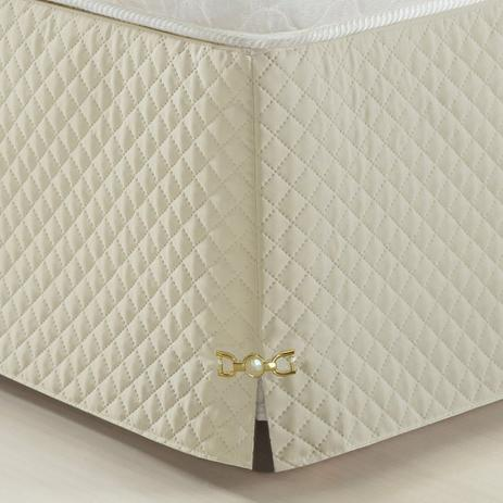 18fc0f316 Saia Para Cama Box Queen Size Veneza Palha - A decorativa - Saia ...