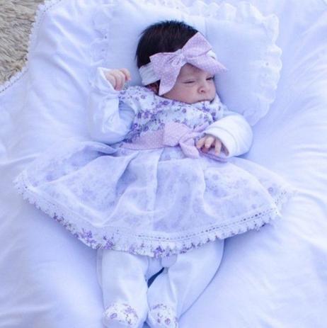 Imagem de Saída de Maternidade Lívia 5 peças cor 3