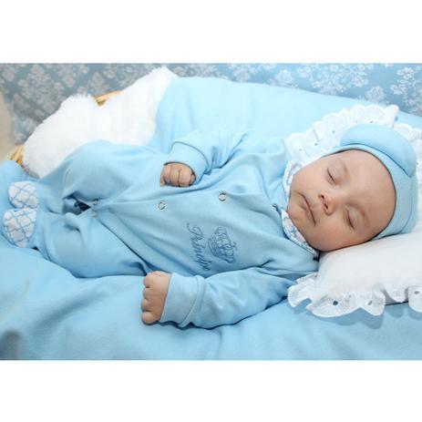 Saída de Maternidade Menino Príncipe Azul 04 Peças - Sônia enxovais ... 96c66315183