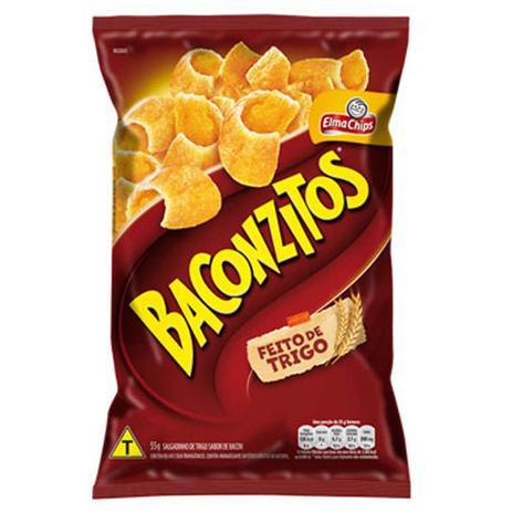 Imagem de Salgadinho Baconzitos 55g - Elma Chips