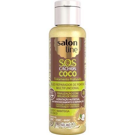 Imagem de Salon line sos cachos óleo reparador coco 60ml