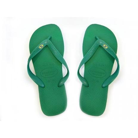 check out ac9e7 19651 Sandalia chinelo brasil havaianas - verde