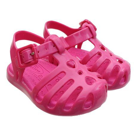 49183d6af Sandália de Bebê Feminina Lilly Baby Pink - Worldcolors - Sandália ...