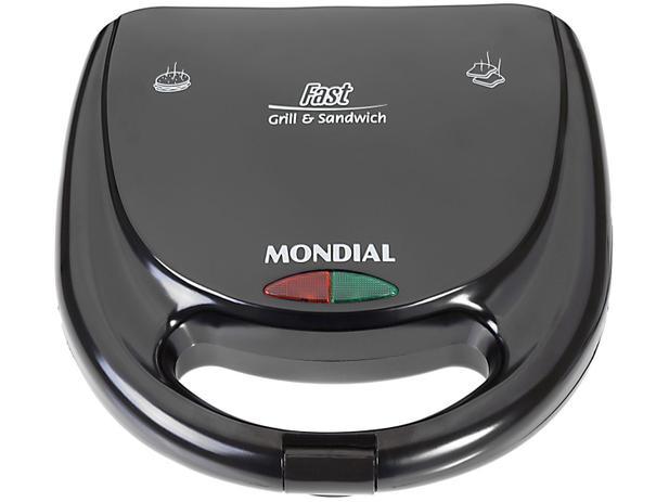 Imagem de Sanduicheira/Grill Mondial Fast Grill e Sandwich