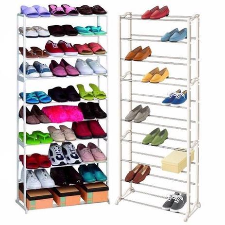 1664e64d0d Sapateira 30 Pares 10 Andares Vertical Sapatos Casa Quarto (BSL-ORG-3) -  Amazing