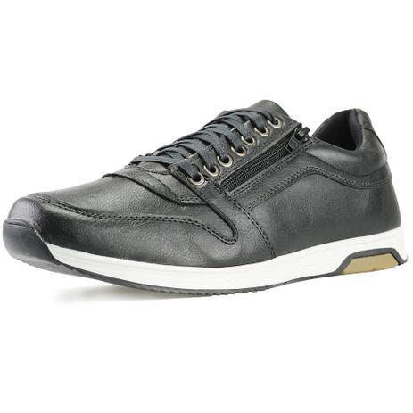 b00e9ed3f4 Sapatenis Florense Casual Easywear Preto Masculino - Dhl calçados ...