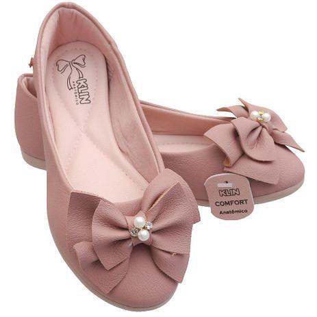 b0afe54376 Sapatilha Infantil Klin Princesa Kids Rose - Calçados para Bebês e ...