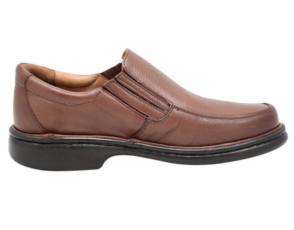 f55d27b18 Sapato Casual Gasparini 606-Chocolate | Menor preço com cupom
