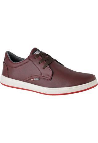 9c862ef6c Sapato Casual Masculino Bordô - CR Shoes - Crshoes - Sapatênis ...