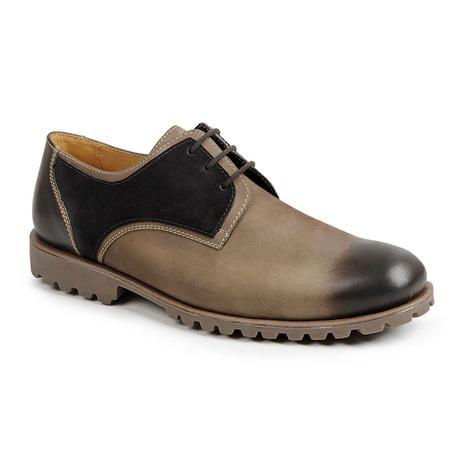 bf2863fc1 Sapato casual masculino derby sandro moscoloni ioshua bege/preto rato