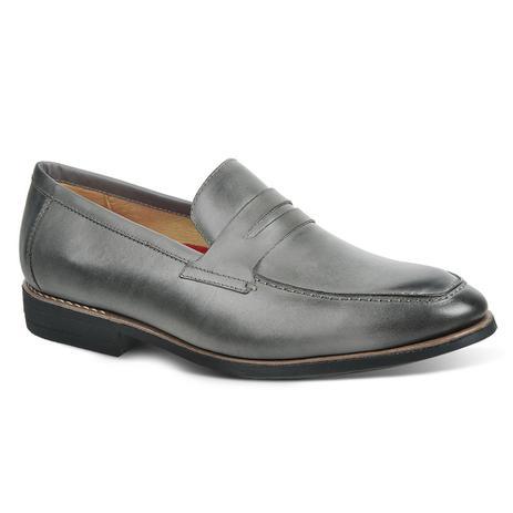 76e4cb297 Sapato casual masculino loafer sandro moscoloni el dorado cinza grey ...