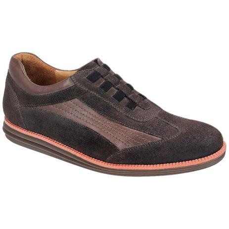 fbd3bb5127 Sapato esporte fino masculino sandro moscoloni davis marrom café brown