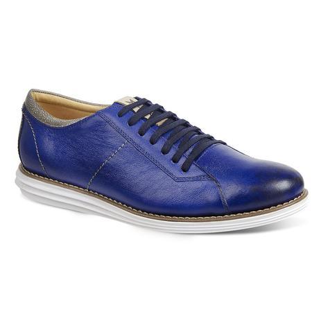 72efa19549 Sapato esporte fino masculino sandro moscoloni pulse azul blue ...