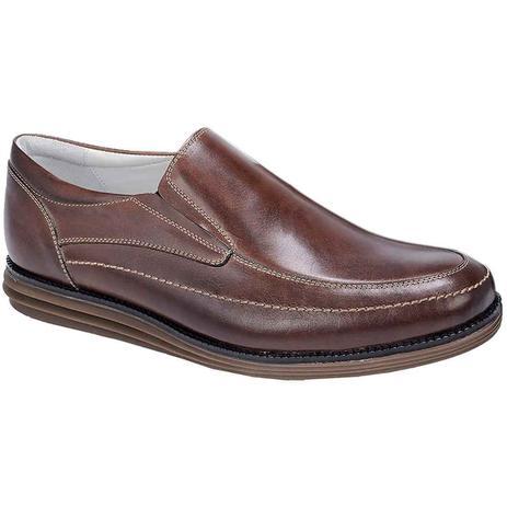 b908ced51d Sapato esporte fino masculino side gore sandro moscoloni joe marrom coffee