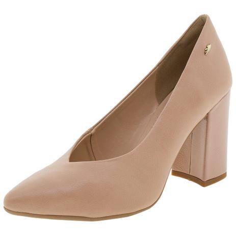 f5451869c Sapato Feminino Salto Alto Dakota - G0102 BEGE BEGE - Sapato ...