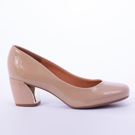 e652d06e2 Sapato feminino verniz vizzano bege 37 - Sapato Social Masculino ...