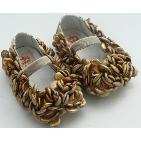 a495c13980 Sapato Gliter Ouro Light - Gats - Calçados para Bebês e Crianças ...
