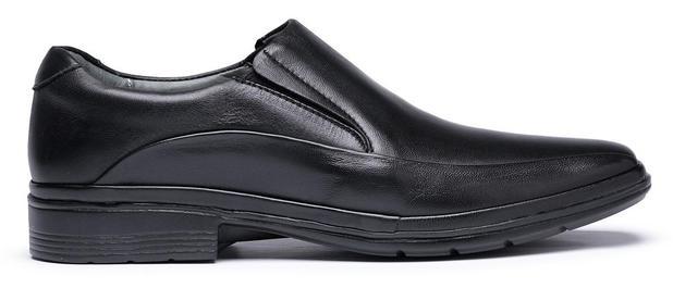 80f5a23ef Sapato Masculino em Couro Super Leve Cano Curto Preço baixo - Medical line