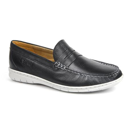 fe6fbbb69f Menor preço em Sapato masculino mocassim sandro moscoloni vart preto black