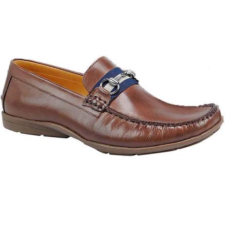 1e0e4bbd1 Sapato masculino mocassim sandro moscoloni vegas marrom brown ...