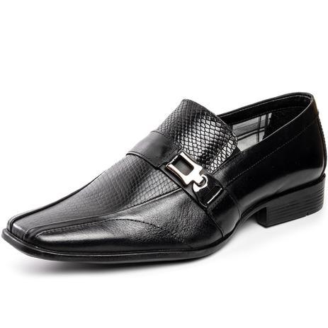 Imagem de Sapato Masculino Social Casual alongado couro cor amêndoa 160