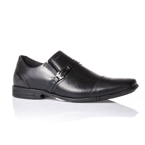 94cd51f8e Sapato Masculino Social Couro Ferracini 3706220g Preto - Sapato ...