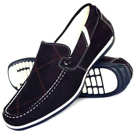 649af4703e Sapato Mocassim Masculino Couro Confortável - Nevano - Mocassim ...