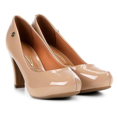 73c0dff47e Sapato Scarpin com Meia Pata Salto Alto Vizzano - Sapato ...