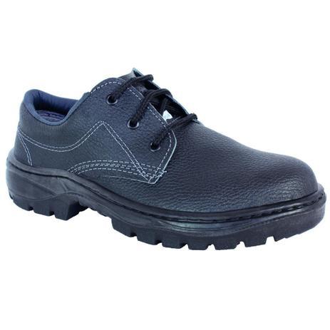 Imagem de Sapato Segurança Cadarço Sem Bico Aço Monodensidade PPP14 PROTEPLUS