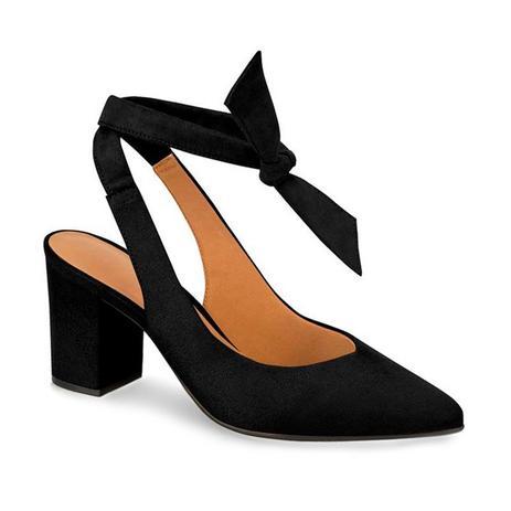 0f0d5ec59 Sapato slingback camurça 1290.407 - vizzano (73) - preto - Sapato ...