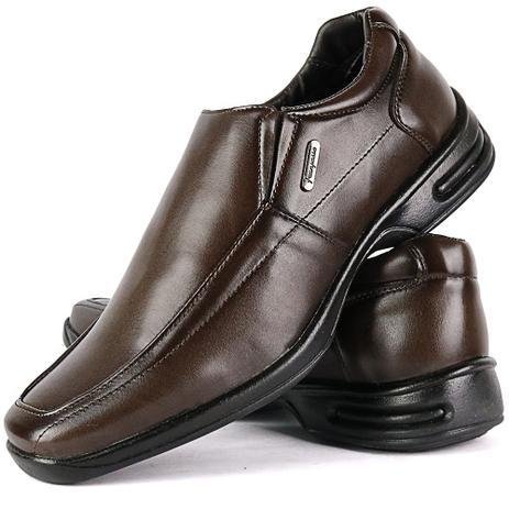 8052ee3d2f Sapato Social Masculino Ortopédico Solado De Borracha Lançamento - Fran  shoes