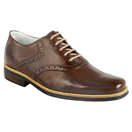 4914406f861 Sapato social masculino oxford sandro moscoloni massachussets marrom coffee