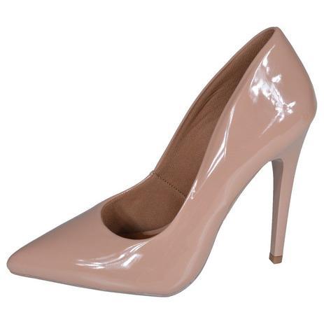 7406910ad0 Scarpin factor fashion salto alto - nude - Sapato - Magazine Luiza