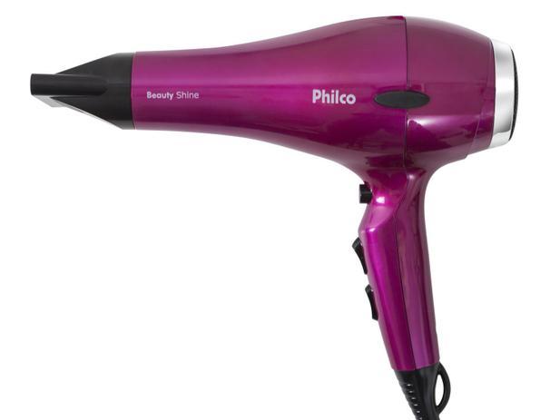 Secador de Cabelo Philco Beauty Shine - com Íons 2000W 2 Velocidades ... 67eef6281735