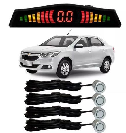 e273de8cf Sensor de estacionamento Ré Chevrolet Cobalt todos Prata - Overvision