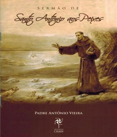 Sermao De Santo Antonio Aos Peixes Livraria Do Chain Livros De