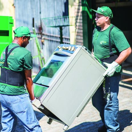 Imagem de Serviço de Coleta e Descarte Ecológico de Fogão ou Forno a gás