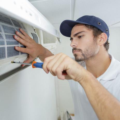 Imagem de Serviço de Instalação de Ar condicionado Split Cassete de 36000 a 60000 BTUs