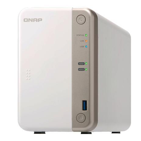 Imagem de Servidor De Dados Qnap TS-251B-2G J3355 2GHZ 2GB 2 Baias Sem Disco