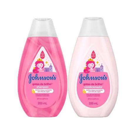 Imagem de Shampoo + Condicionador 200ml Kit Johnson's Baby